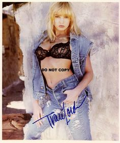 TRACI LORDS 8X10 AUTHENTIC IN PERSON SIGNED AUTOGRAPH REPRINT PHOTO RP - 8x10, Authentic, autograph, LORDS, PERSON, Photo, REPRINT, Signed, TRACI