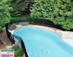Our Protect-a-Child pool fences never detract or distract from the beauty of your backyard. Blending in is what we do best!