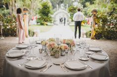 Image by Foxley Photography - Snowflake by Oscar de la Renta For A Classic Elegant Wedding At The Villa Rothschild In The South Of France With Groom In Burberry And Bridesmaids In Topshop With Images By Foxley Photography And Video By Reel Weddings