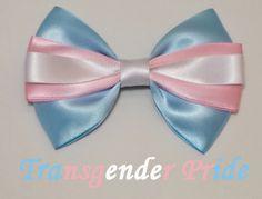 Transgender Pride Bow от TheCraftinOurCoffee на Etsy