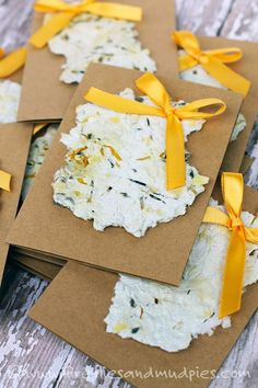 Through this craft, kids will learn about recycling and gardening! | Fireflies and Mud Pies