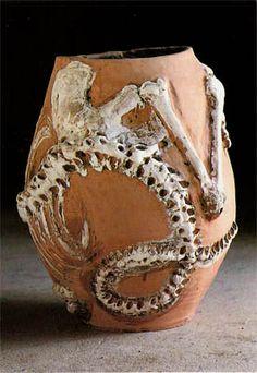 dinosaurio fósil (Miquel Barcelo)