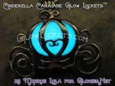 Cinderella Pumpkin Carriage inspired Glow Locket ™