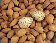Go Nuts with Almonds! at www.GrowOrganic.com