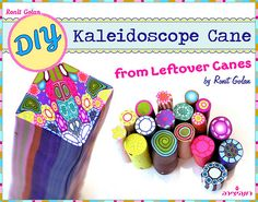 Kaleidoscope Cane Tutorial from leftover polymer clay cane… | Flickr