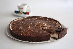 Receitas práticas de culinária: Tarte de chocolate e iogurte