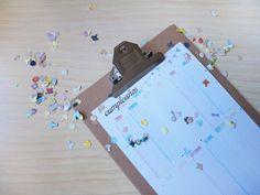 imprimible: calendario de cumpleaños