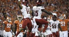 Clemson quarterback Deshaun Watson threw for five touchdowns as the third-ranked Tigers rallied past No. 3 Louisville in the final seven minutes for a 42-36 victory Saturday night