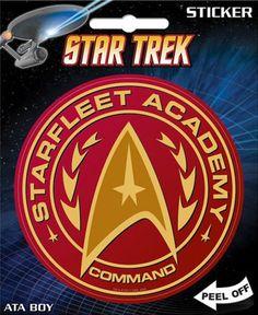 Star Trek Starfleet Academy Seal Sticker Decal