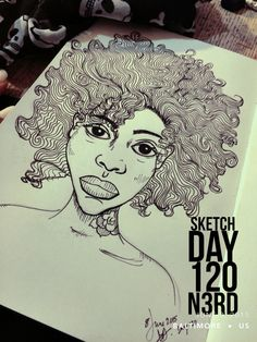#sketchaday #artlove #penandink #nerds #art #sketchbook #artists #imayneednewglasses #pencils #acompanyofn3rds #sanctuary #art_boost #n3rds #spotlightonartists #prismacolor #canson #camu #blackgirlsrock #curls