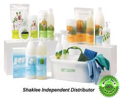 Shaklee Get Clean Starter Kit. Works wonders! www.ttraudt.myshaklee.com