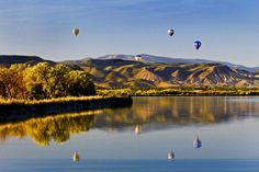 Eyes to the Sky Balloon Festival in Salina, Utah. Held annually every June. (Dates not up yet for 2013)