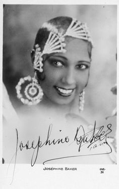 Josephine Baker... absolutely stunning.