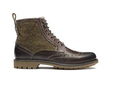 Harris Tweed / Clarks - Montacute Lord Boots