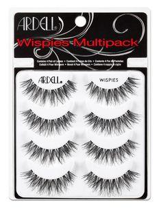 2793205d803 Ardell Wispies Multipack (x4) Wispy Lashes, Demi Wispies, Waterproof  Makeup, Movie