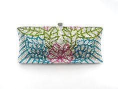 S7735TF Crystal lady fashion wedding Bridal Metal Evening purse clutch bag case handbag
