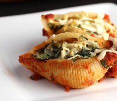 Spinach and Artichoke Pasta Shells