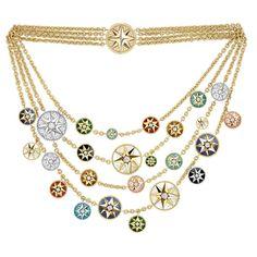 Dior Rose des Vents multi-strand-necklace