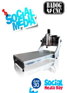 It's Social Media Day and we are celebrating this day offering you a free course of router. Cnc Milling Machine, Promotional Flyers, Free Courses, Cnc Router, Social Media, Socialism, Milling Machine, Hobbies, Social Networks