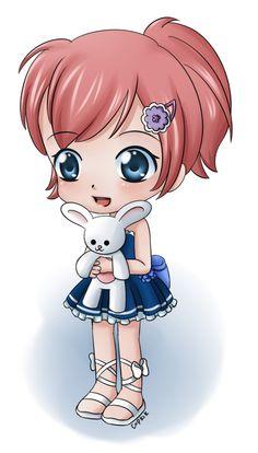 Chibi Midori by Cupkik.deviantart.com on @deviantART