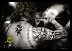 Philippines Kalinga traditional way of tattooing - Ethnic Pride : Wear your identity©   VISIT: https://www.facebook.com/kayawtatu