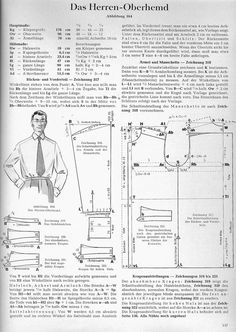 Rundschau shirt block from the 1950s-60s on The Cutter and Tailor Forum. Plus more discussion: http://www.cutterandtailor.com/forum/index.php?showtopic=3648