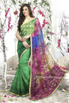 Casual Daily Wear Super Net Saree