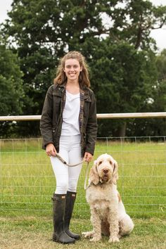 We travelled to The Game Fair at Ragley Hall in July - where we bumped into Olivia and her trusty companion Martha.