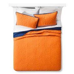Triangle Stitch Quilt and Sham Set - Pillowfort™ : Target
