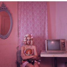 Suburbia in Pink Kitsch, Marina And The Diamonds, Everything Pink, Pink Aesthetic, Up Girl, Art Direction, Fashion Photo, Pretty In Pink, Girly