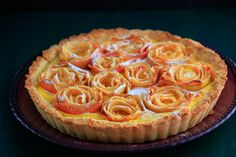 Apple Rose Tart by kalejdoskoprenaty #Apple_Tart #Rose
