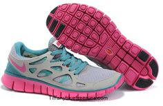 the best attitude 68a75 07036 2012 Nike Free Run +2 Grey Light Green Blue Pink  cheap  nike