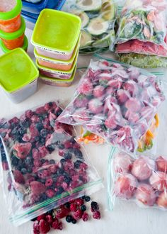 Get Your Smoothie On: How to Properly Freeze Fruits & Veggies. 11 tips!