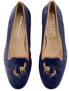 Want 'em so badddddd!!! Stubbs & Wootton do RL Polo. (Custom, of course... $475.)