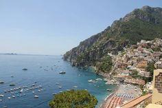 Summer afternoon in Positano, Italia - by Celina Guillen