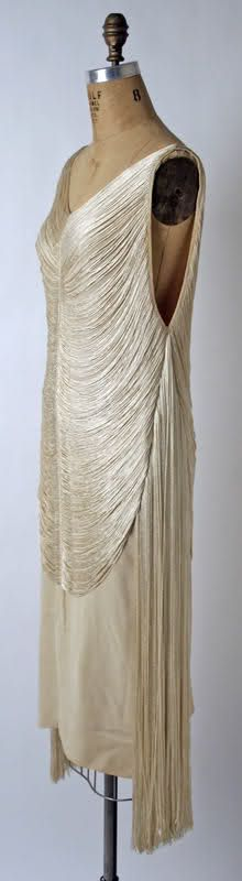 Madeleine Vionnet evening dress ca. 1925 via The Costume Institute of The Metropolitan Museum of Art