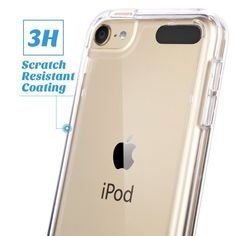 Ultra Thin Gel Case + Tempered Glass Cover For Apple iPod Touch 6th & Touch 5 in Mobile Phones & Communication, Mobile Phone & PDA Accessories, Cases & Covers | eBay!