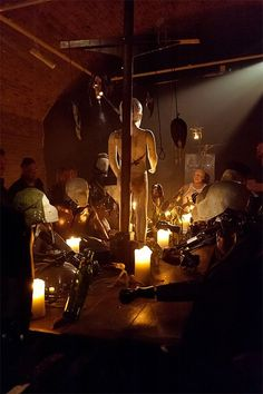 Black Rat Projects present Giles Walker at Gallery 223- The Last Supper and New Work, 2014.