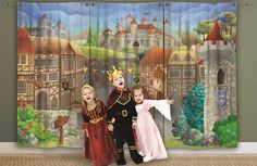Great for schools, clubs and theatre productions. Great for Nativity plays & pantomimes,Simply hang up and go.