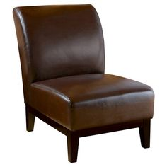 Christopher Knight Home Upholstered Chair - Brown