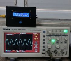 Picture of Portable Function Generator on Arduino