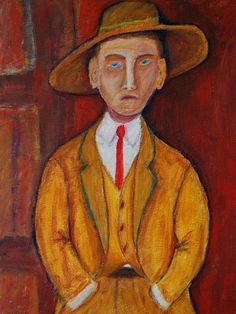 EBSQ AOTD 06/18/2013: Man In Golden Coat by Richard Holland