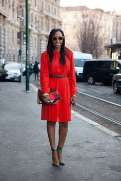 Shiona Turini from Teen Vogue sees the world through those glittery Miu Miu specs. Photo by The Locals