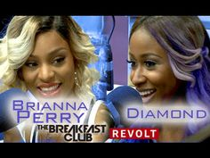 Diamond and Brianna Perry with The Breakfast Club Power 105.1 (8/11/2014)