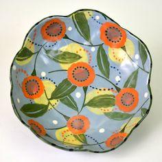 Nancy Gardner Ceramics. Hand built hand by nancyandburt on Etsy