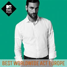EMA 2015 - Best Worldwide Act Europe - 25 ottobre 2015