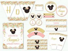 Minnie Mouse Birthday Party Package Minnie Mouse Party Decor
