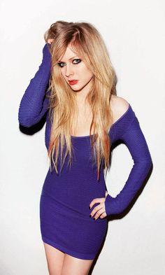 Elegant Avril Lavigne