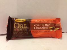 Crazy Food Dude Review: @Better_Oats Oat revolution! Peanut Butter Chocolate Chewy Granola Bar
