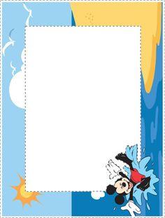 "un cadre ""Mickey"" qui rappelle les vacances..."